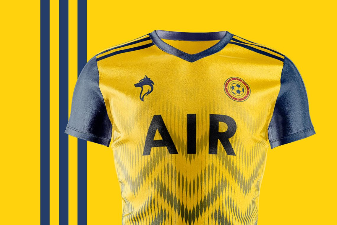 Download Soccer Jersey Psd Mockup Yellowimages