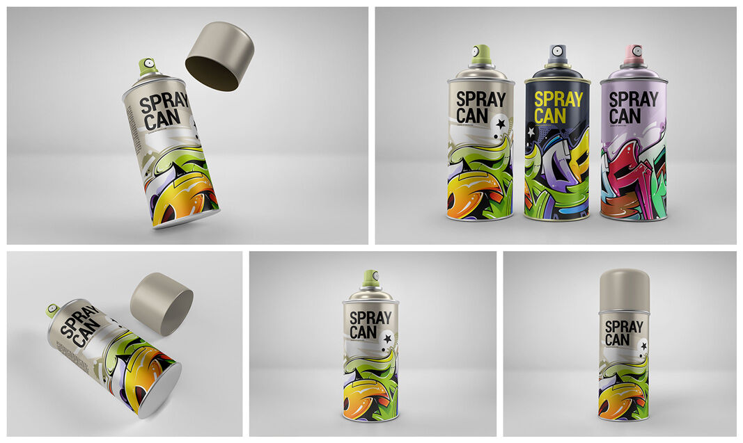 Download Roller Bottle Mockup Yellowimages