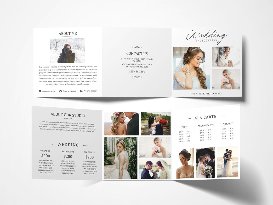 Download Accordion Brochure Mockup Psd Yellowimages