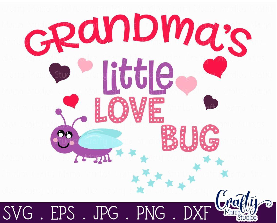 Download Valentine's Day SVG - Grandma Svg - Grandma's Little Love ...