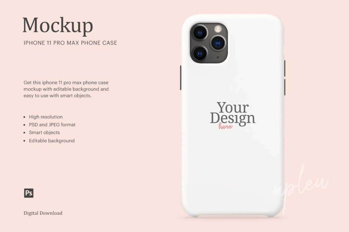 Download Iphone Hand Mockup Free Psd Yellowimages