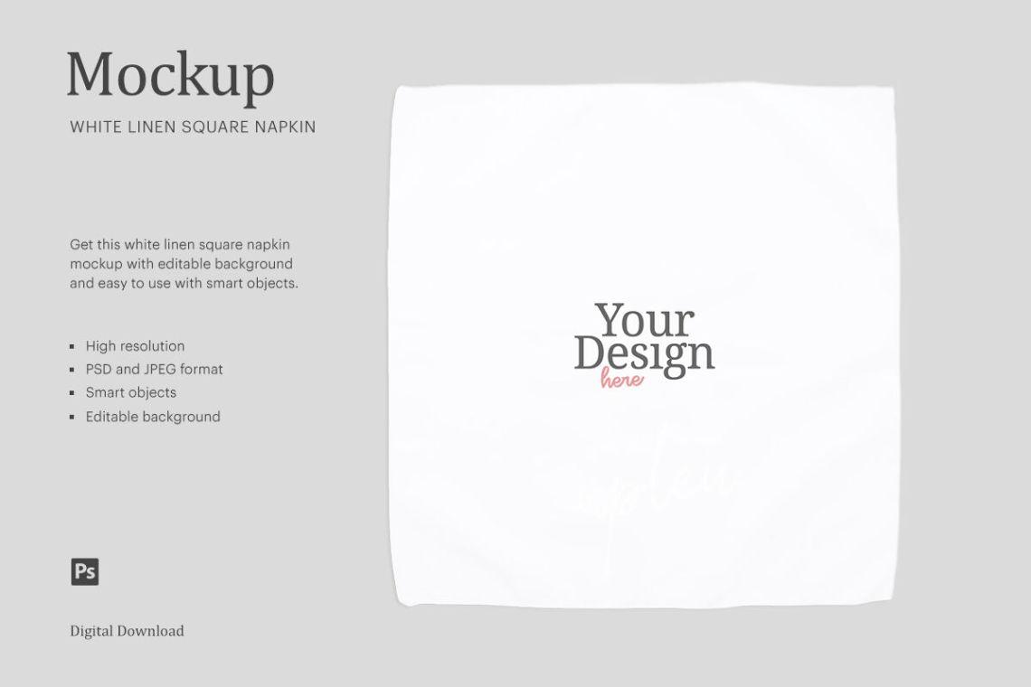 Discover 3 napkin mockup designs on dribbble. Paper Napkin Mockup Psd Free Free Mockups Psd Template Design Assets