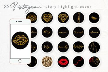 Instagram story highlight icons story sticker By