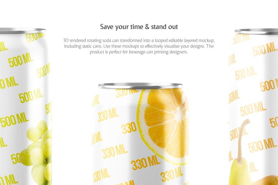 Download Clear Glass Bottle With Soft Drink Mockup Yellowimages