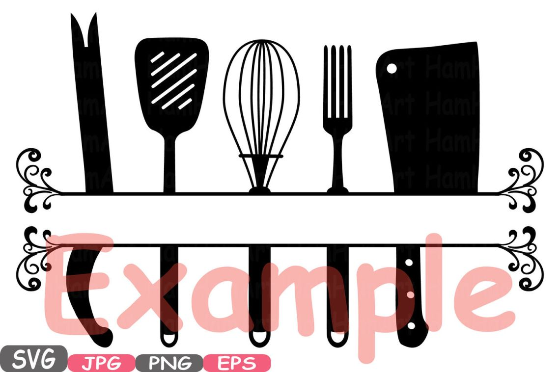 Download Split Kitchen SVG file Cutting files Cricut & Cameo ...