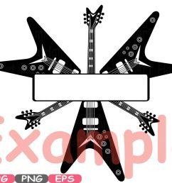 split rock n roll music cutting files svg  [ 1400 x 931 Pixel ]