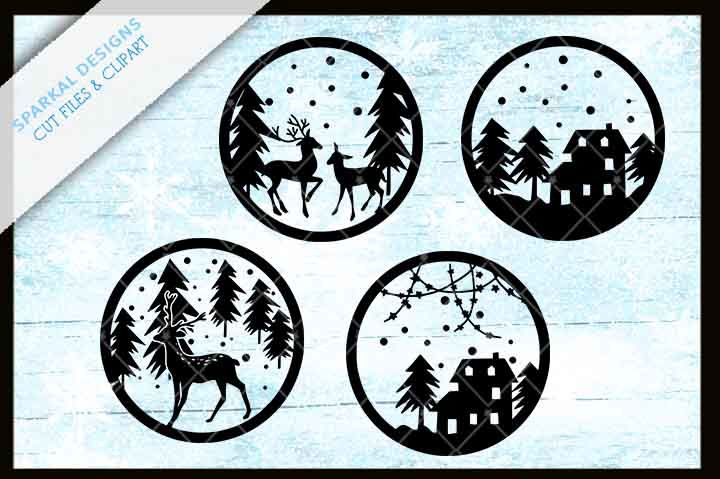 Download Floating Ornament Cut Files - SVG-DXF-EPS-PNG By Sparkal ...