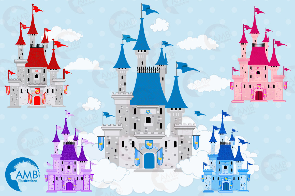 hight resolution of  fairytale castle clipart graphics illustrations amb 992