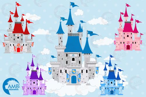 small resolution of  fairytale castle clipart graphics illustrations amb 992
