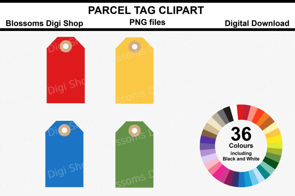 medium resolution of parcel tag clipart 36 multi colours png files