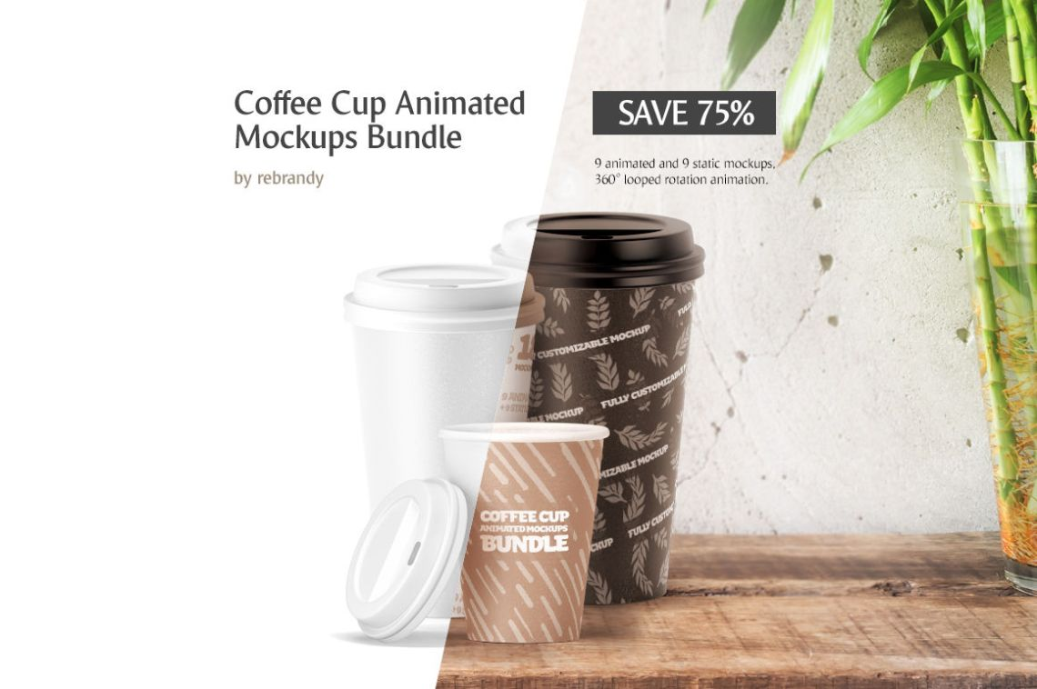 Download Two Glossy Coffee Tin Cans Mockup Yellowimages