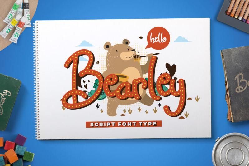 Download Free Font Bundle | TheHungryJPEG.com