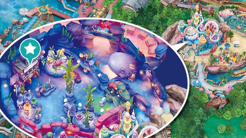 【官方】美人魚礁湖劇場 ※川頓王的音樂會|東京迪士尼海洋|東京迪士尼度假區