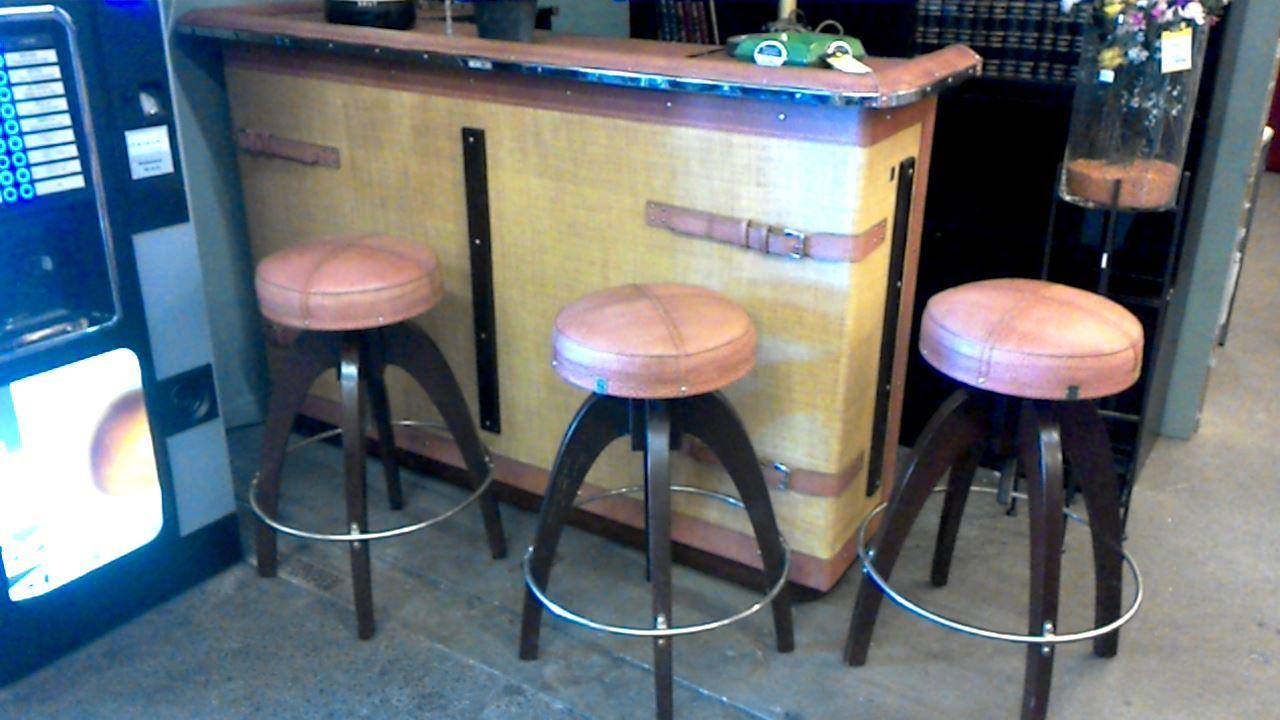 09a22982ad394b Table De Bar+4 Tabourets   Table Bar Noir Élégant Table Haute ...