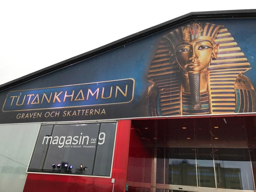 Utställning Tutankhamun
