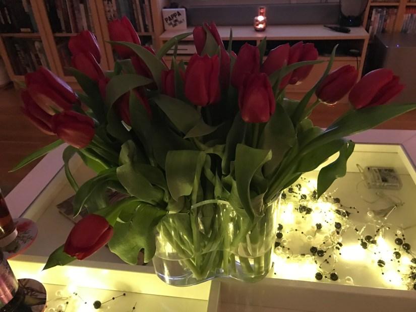 Födelsedag - blommor