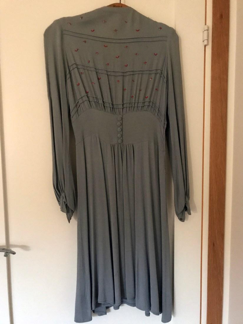 Mormor brudklänning