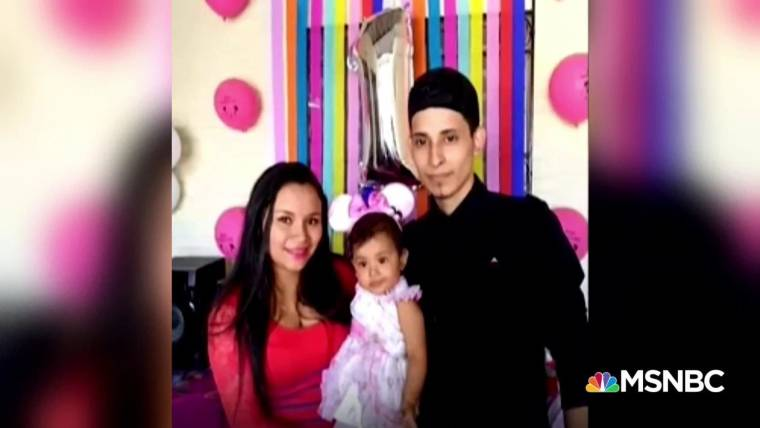 family of salvadoran migrant