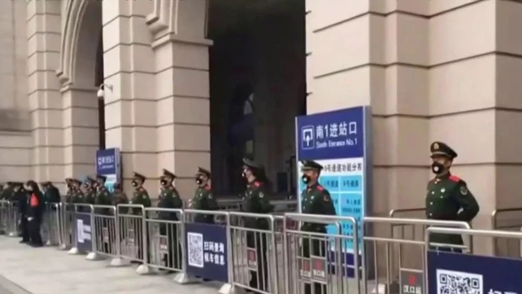 Three Chinese cities on lockdown, travel disrupted amid ...