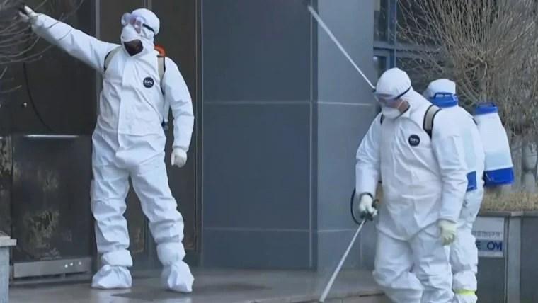 Coronavirus updates: South Korea reports big jump in cases, virus ...