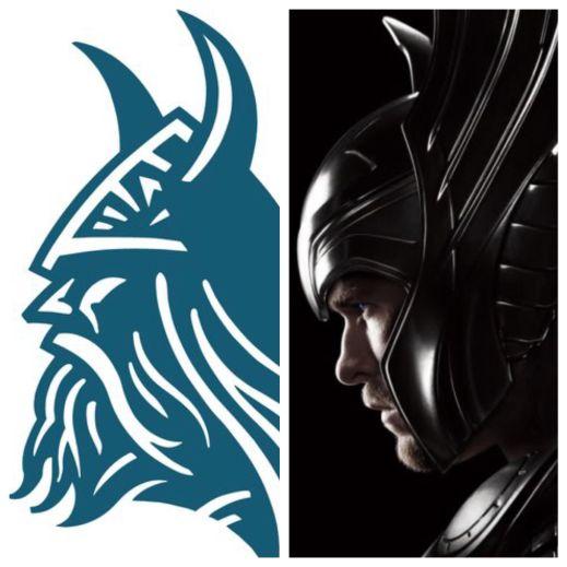 Modern Viking meets God of Thunder.