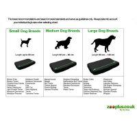 Orthopaedic Dog Bed Rectangular   Free P&P on orders 29 ...