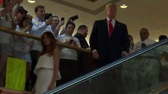 Looking back at Trump's infamous escalator ride