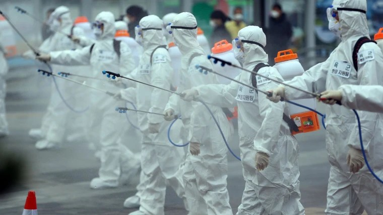 South Korea mobilizes army in effort to stop spread of coronavirus