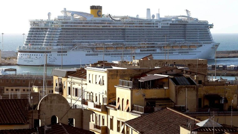Cruise with 6,000 people stuck on board due to coronavirus scare ...