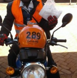 Business as a motorbike taxi