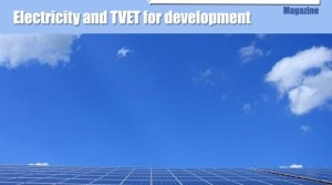 Electricity and TVET for development