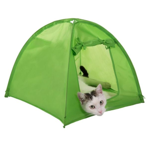 Cat Camp Tent Great Accessories Zooplus