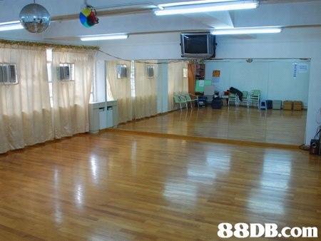 Ricky Dancing Studio 舞蹈練習室(近佐敦MTR) - 800呎及1400呎彈性地板全身鏡舞蹈室 - HK 88DB.com