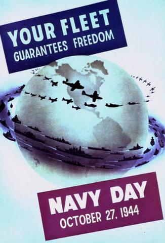Navy Day poster, 1944