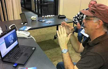 Tony Moore wants Mackay to access more services for the deaf and hearing-impaired.