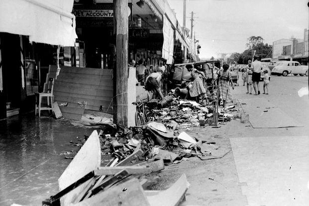 lismore floods 1954