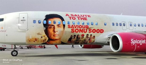 Sonu Sood gets a special livery dedicated to him by a domestic airline : Bollywood News Moviesflix - MoviesFlix | Movies Flix - moviesflixpro.org, moviesflix , moviesflix pro, movies flix