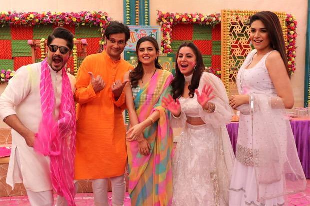 Ridhi Dogra of The Married Woman graces the sets of Kundali Bhagya and Kumkum Bhagya : Bollywood News Moviesflix - MoviesFlix | Movies Flix - moviesflixpro.org, moviesflix , moviesflix pro, movies flix