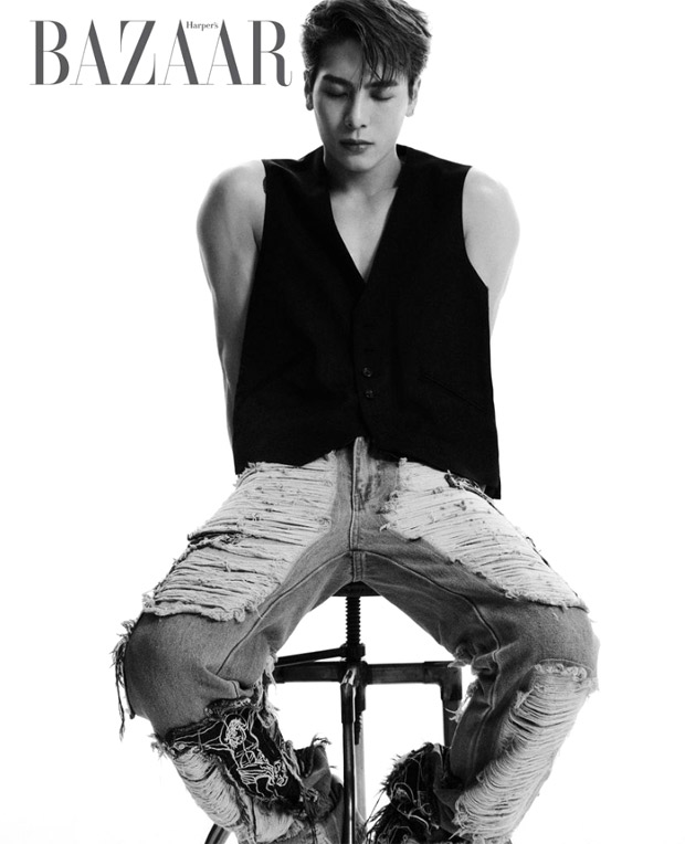 GOT7's Jackson Wang steals the spotlight with crisp aesthetic style for Harper's Bazaar Korea shoot : Bollywood News - Bollywood Hungama