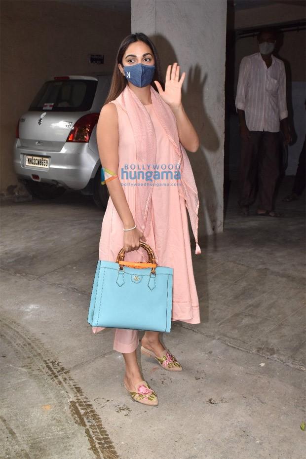 Kiara Advani makes a splash in the city in a desi attire with a Diana Gucci Bag worth nearly Rs. 3 lakh