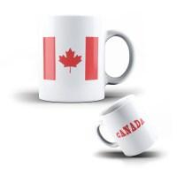 CERAMIC MUG CANADA - COFFEE CUP CANADIAN FLAG | eBay