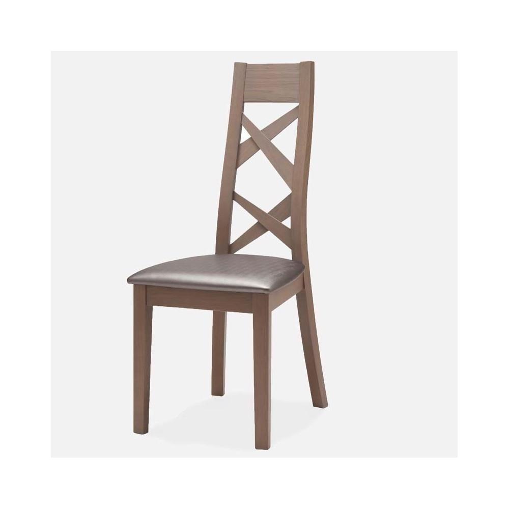 chaise contemporaine chene massif