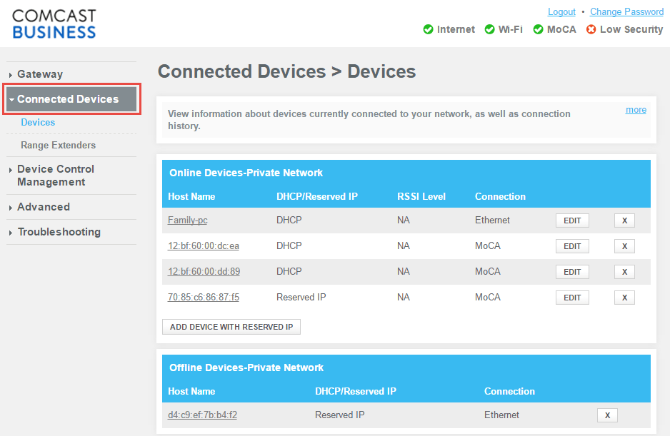 comcast wireless diagram