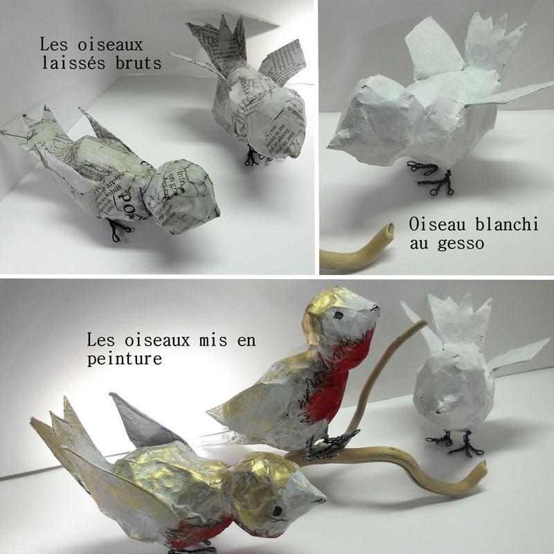 Comment Faire Un Oiseau En Papier Mch Tuto Ides Et