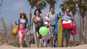 Amanda Peet, Melanie Lynskey, Mark Duplass, and Steve Zissis are always together in Togetherness.