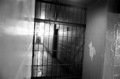 An Abbott hallway in 1988. Break-ins through medicine cabinets were not uncommon in the project in 1986 and 1987.
