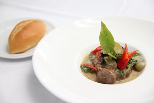 Chef McDangs green curry osso bucco