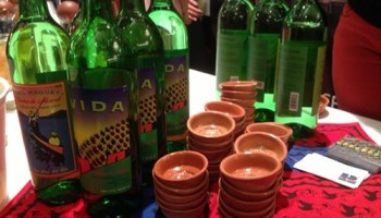Del Maguey mezcal at the Independent Spirits Expo