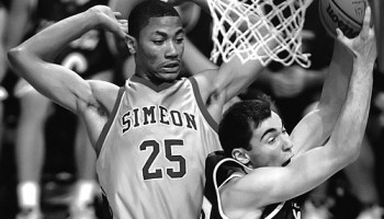 Derrick Rose when he was at Simeon in 2006