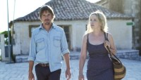 Ethan Hawke and Julie Delpy in Before Midnight